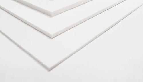 Impressão direta em PVC Branco